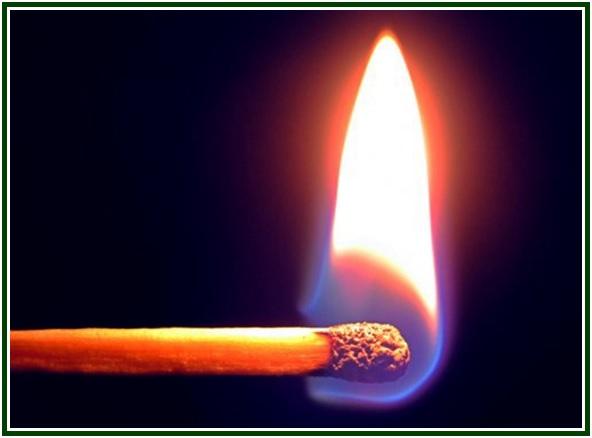 A Burning Match Anticipates com mold
